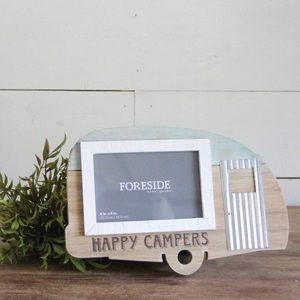 Happy Campers 4x6 photo frame